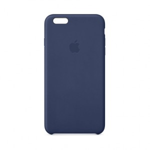 Apple Original Lederhülle für iPhone 6 Plus – Midnight Blue
